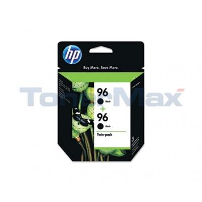 HP NO 96 INK CARTRIDGE BLACK TWIN PACK